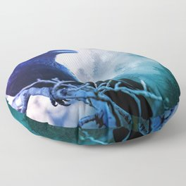 Forested Floor Pillow