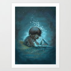 Sail On Art Print