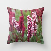 norway Throw Pillows featuring Norway I by Cynthia del Rio