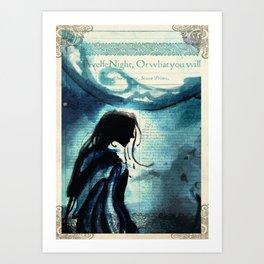 Twelfth Night Viola Art Print