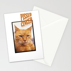 Pissed Ginger Stationery Cards