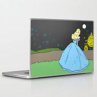 cinderella Laptop & iPad Skins featuring Cinderella by RaJess