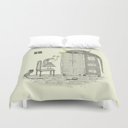 'There You Are!' Duvet Cover
