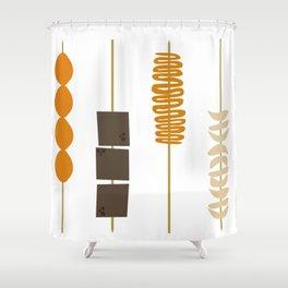 Street Foodz Shower Curtain