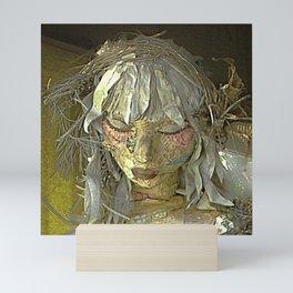 Discarded Angel Mini Art Print