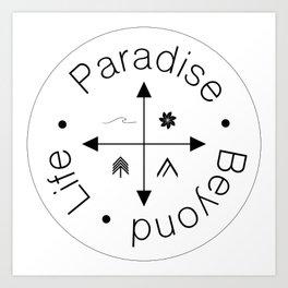 Life Compass Art Print