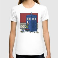 hallion T-shirts featuring Who wants to Build a Snowman? by Karen Hallion Illustrations