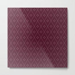 Mae Pattern XIV Metal Print