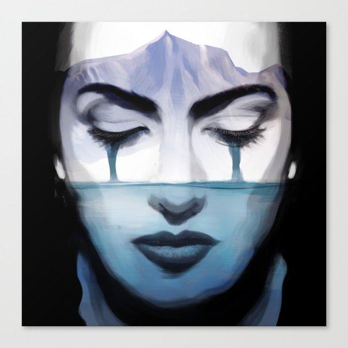 Kate Winslet Canvas Print