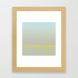 STRAIGHT Y195 Framed Art Print