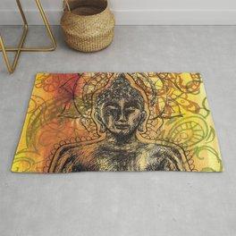 Meditating Buddha  Rug