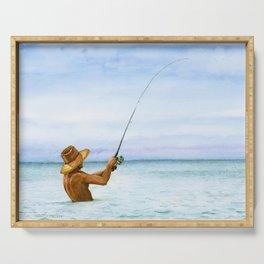 Fishing Serving Tray