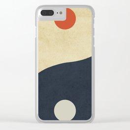 Yin & Yang Clear iPhone Case