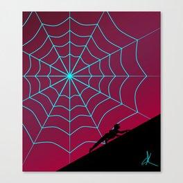Spider Twilight Series - Spider-Gwen Canvas Print