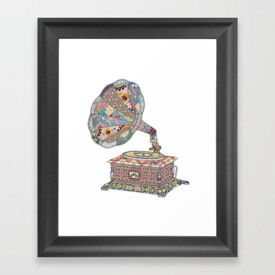 SEEING SOUND Framed Art Print