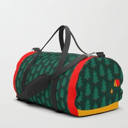 Camping in the Woods Duffle Bag