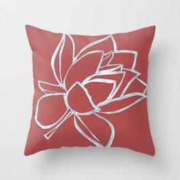 Cut up Pink Throw Pillow