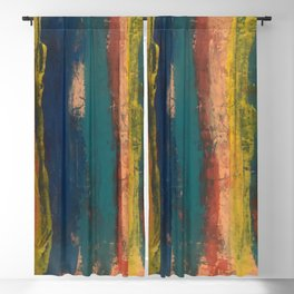 Taos Abstract Stripes Blackout Curtain