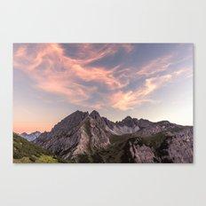 Alpine Journey Canvas Print
