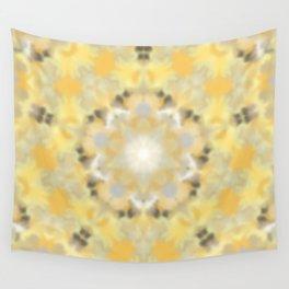 Orange and Yellow Kaleidoscope 4 Wall Tapestry