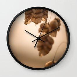 Rattlesnake Grass Wall Clock