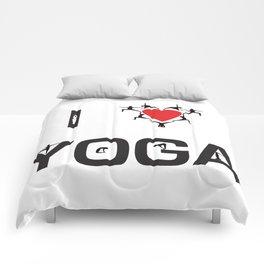 I heart Yoga Comforters