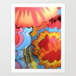 BLAM Art Print