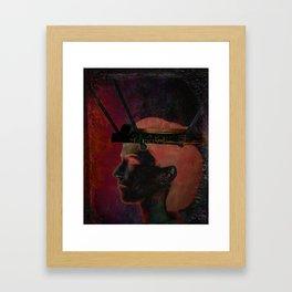 Cerebral Hard Drive Framed Art Print