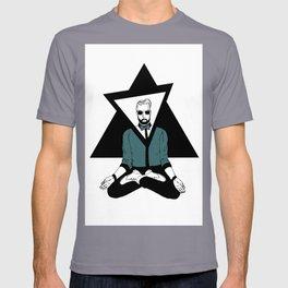 The meditator hipster T-shirt