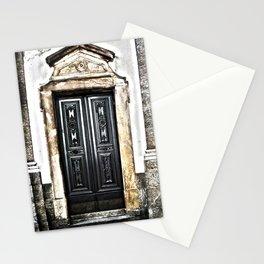 Mahogany Church Door  Stationery Cards
