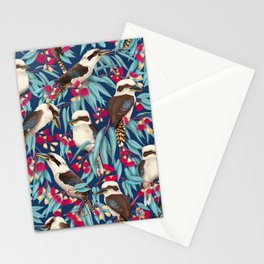 Laughing kookaburra Stationery Cards