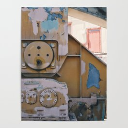 industrial pastels 1 Poster
