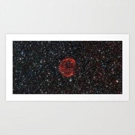 Star Gone Supernova Art Print