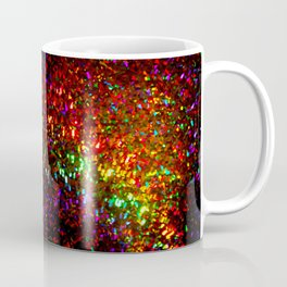 Fascination in gold-photograph of colorful lights Coffee Mug
