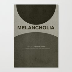 Melancholia - MINIMALIST POSTER Canvas Print