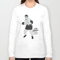 rocky Long Sleeve T-shirts featuring Rocky - Rocky Marciano by V.L4B