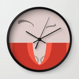 T'Pol - Vulcan - Minimalist - Star Trek: Enterprise - Trektangle - Trektangles - startrek minimalism Wall Clock