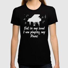 Piano Pianist Instrument Teacher Gift T-shirt
