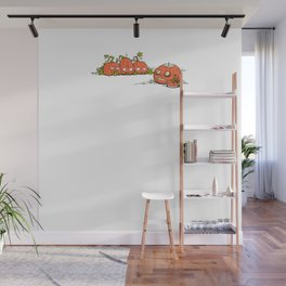Ghoulish Gourd Wall Mural