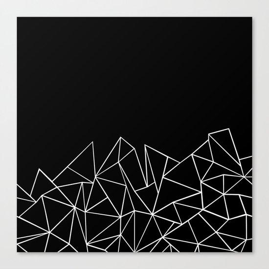 Ab Peaks Canvas Print