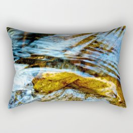 Lay me Down (By the River) Rectangular Pillow