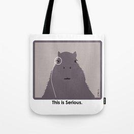 Professor Capybara III Tote Bag