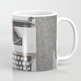 Portable Typewriter Coffee Mug