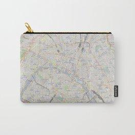 map of Paris – France, French,city of light,seine, parisien, parisian. Carry-All Pouch