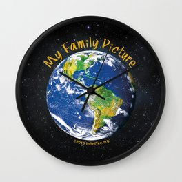 My Family Picture: The Ultimate Selfless Selfie Wall Clock