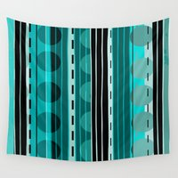 road Wall Tapestries featuring Road by JuniqueStudio