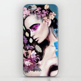 Depressed women iPhone Skin