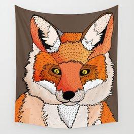 Foxy Wall Tapestry