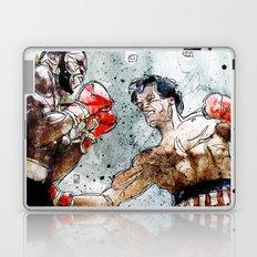 Boxing: Rocky Balboa vs Clubber Lang Laptop & iPad Skin