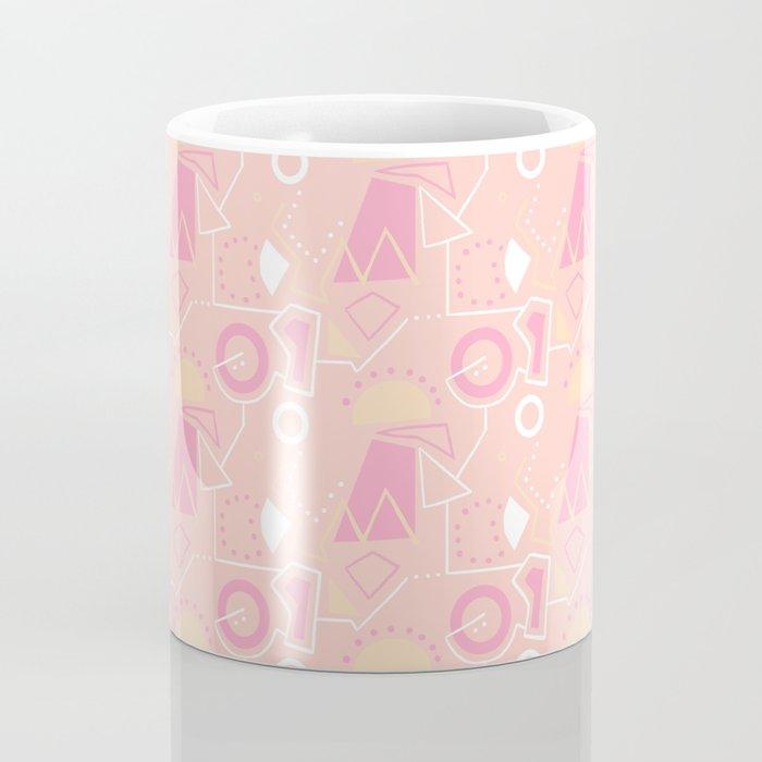 Graze Maze Peach Coffee Mug